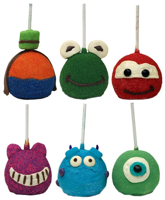 New Character-Inspired Apples Available at Disney Parks
