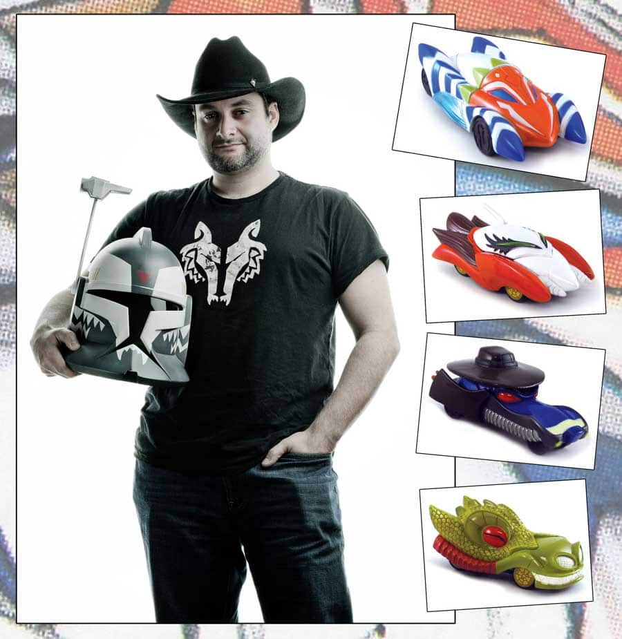 Dave Filoni and the new Star Wars: The Clone Wars inspired Disney Racers