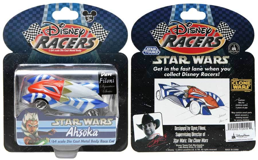See the new Star Wars: The Clone Wars inspired Disney Racers