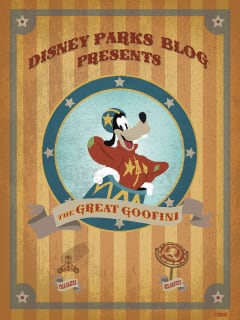 iPhone/Android Wallpaper Featuring the Great Goofini, Star of the Barnstormer in New Fantasyland at Magic Kingdom Park