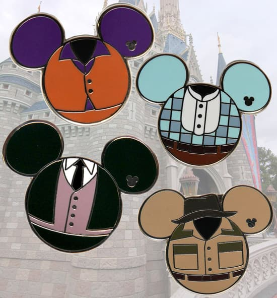 Cast Member Costume Hidden Mickey Pins Coming This Summer to Disney Parks