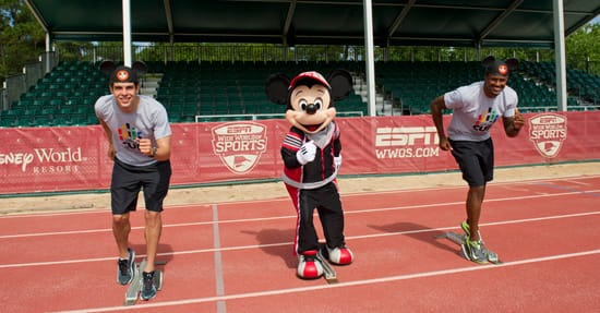 Soccer Star Kaká Visits the ESPN Wide World of Sports Complex at Walt Disney World Resort
