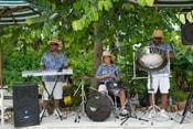 The Calypso Band Tropicals Perform Caribbean Steel Drum Music at Disney's Typhoon Lagoon Water Park at Walt Disney World Resort