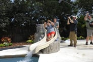 The Castro Family's Yard Gets a Makeover Inspired by The Little Mermaid ~ Ariel's Undersea Adventure on 'My Yard Goes Disney'