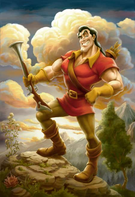 This Portrait of Gaston Will Serve as a Main Piece of Artwork in Gaston's Tavern in New Fantasyland at Magic Kingdom Park