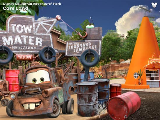 Explore Mater's Junkyard Jamboree and More of Disneyland Resort with the 'Disneyland Explorer' App for iPad