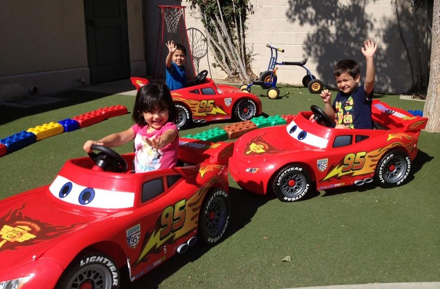 Disneyland Resort Donates Lightning McQueen Power Wheels to Local Nonprofits 3c32df7490d0