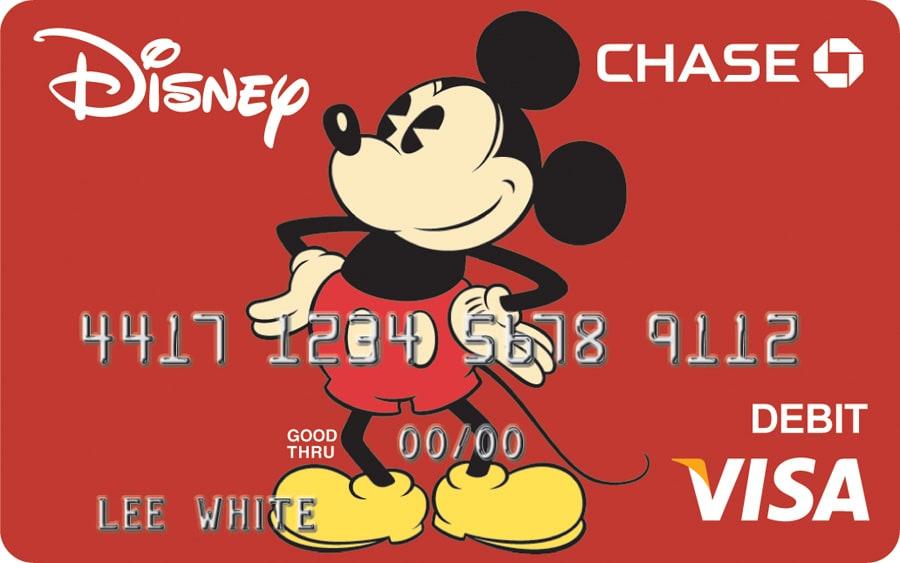 Exclusive Disney Art Featured on New Visa Debit Card Disney