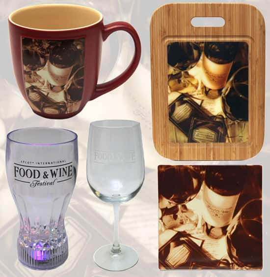 Drinkware and Other Merchandise for the 2012 Epcot International Food & Wine Festival