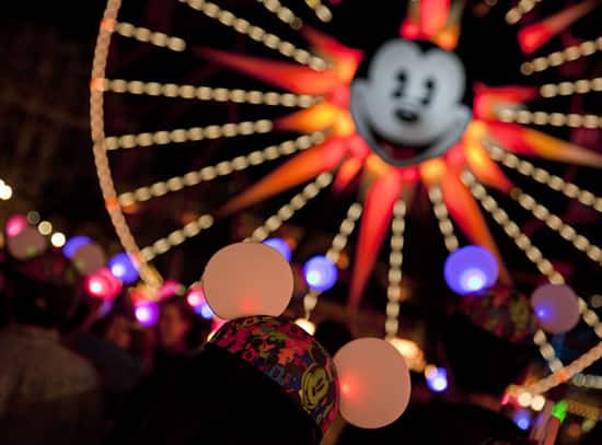 Disney Parks Blog Readers at the 'Glow With the Show' Meet-Up at Disney California Adventure Park