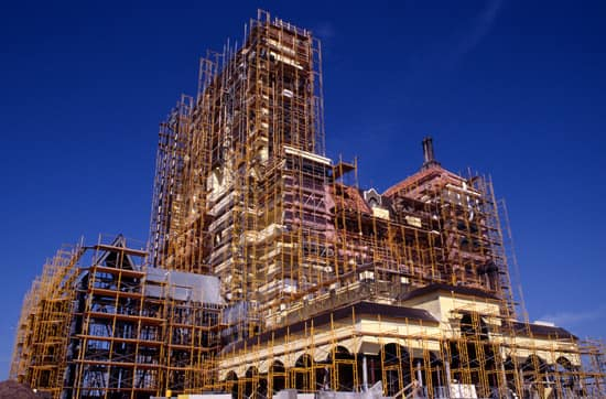 The Twilight Zone Tower of Terror at Disney's Hollywood Studios, Under Construction