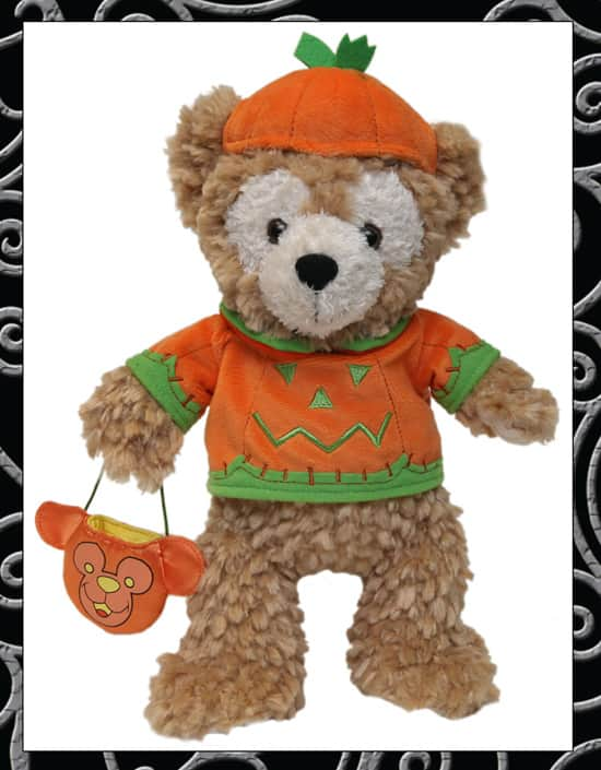 Nine-Inch Duffy the Disney Bear Halloween Plush Available at Disney Parks