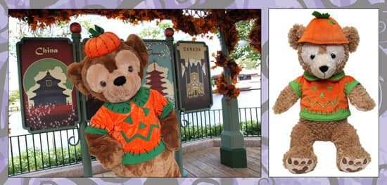 Duffy the Disney Bear's Halloween Outfit Available at Disney Parks
