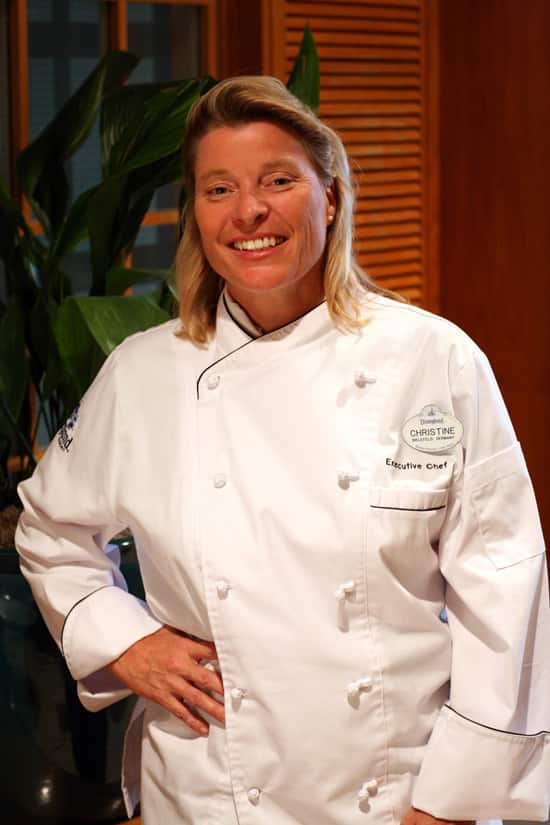 Chef Christine Weissman, the New Executive Chef for Both Parks at the Disneyland Resort