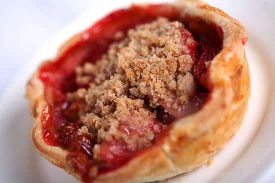 Strawberry Rhubarb Pie Created by Disneyland Resort Executive Pastry Chef Jean-Marc Viallet