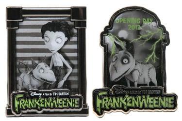 Frankenweenie Pins Coming to Disney California Adventure Park