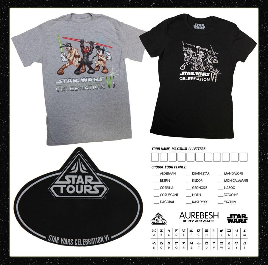 Disney Parks Merchandise To Attend Star Wars Celebration Vi Event In