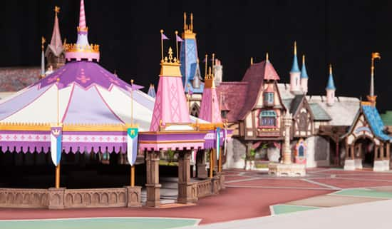 ... Walt Disney Imagineering Model For Fantasy Faire, Part Of New  Entertainment Experiences Coming To Fantasyland