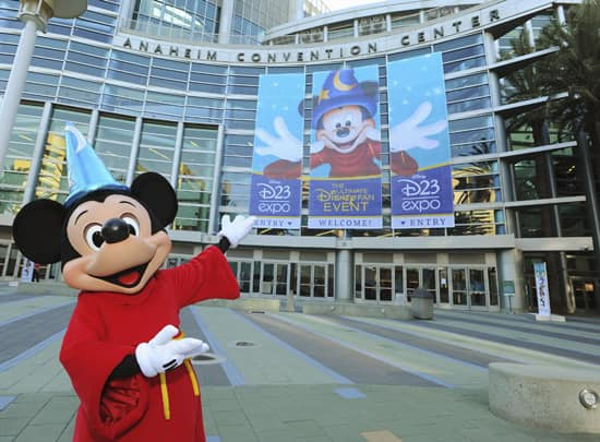 Disney's D23 Expo 2013 Will Take Place Right Across the Street From Disneyland Resort, at the Anaheim Convention Center. Tickets Available on August 9!