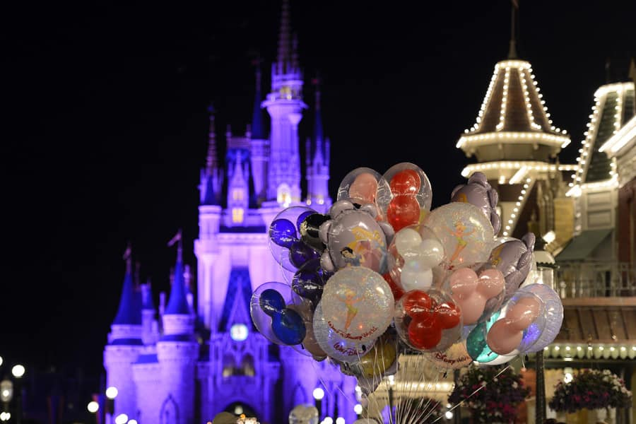 Disney Parks After Dark: A Bouquet of Balloons at Magic Kingdom ...