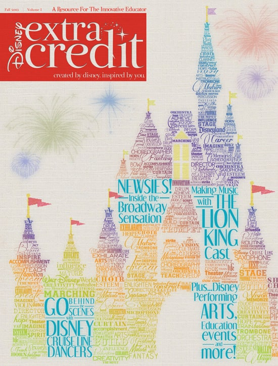 The First Issue of Disney Extra Credit Magazine