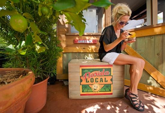 Guests at the Epcot International Food & Wine Festival at Walt Disney World Resort