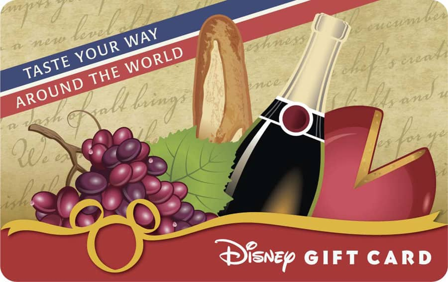 disney world gift card taste your way around the world with a disney gift card 7329