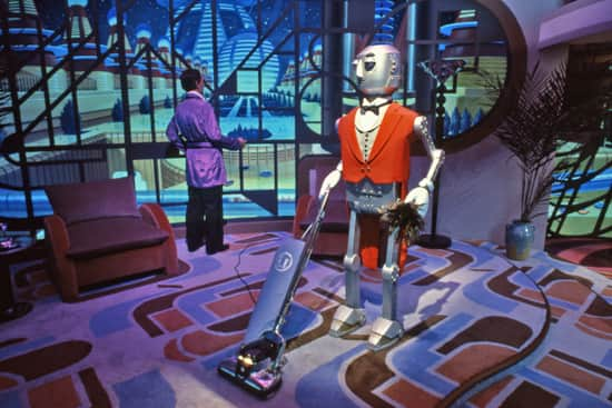 The Robot Butler, Part of Horizons in Epcot at Walt Disney World Resort