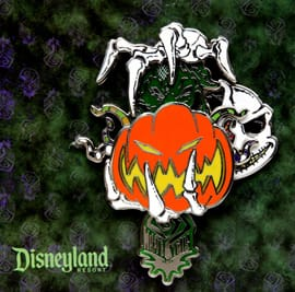New Pins Inspired by 'Tim Burton's The Nightmare Before Christmas' and Haunted Mansion Holiday Coming to the Disneyland Resort