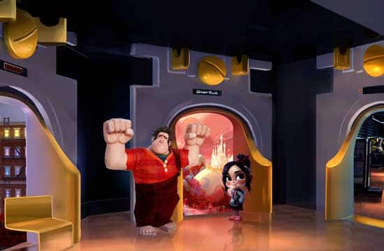 Meet Ralph and Vanellope at the 'Sugar Rush' Portal in the Tomorrowland Starcade