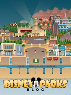 iPhone/Android Wallpaper Celebrating the Expansion of Disney California Adventure Park