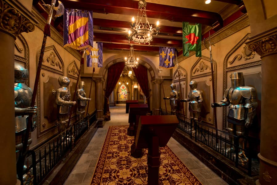 All In The Details Suits Of Armor At Be Our Guest