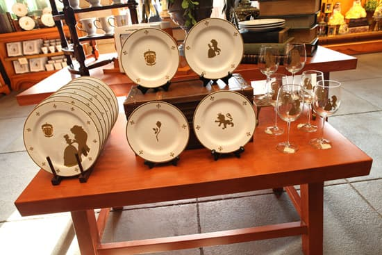 Say Hello to New Fantasyland Merchandise at Bonjour! Village Gifts in Magic Kingdom, Including Elegant Dishware Inspired by the Be Our Guest Restaurant
