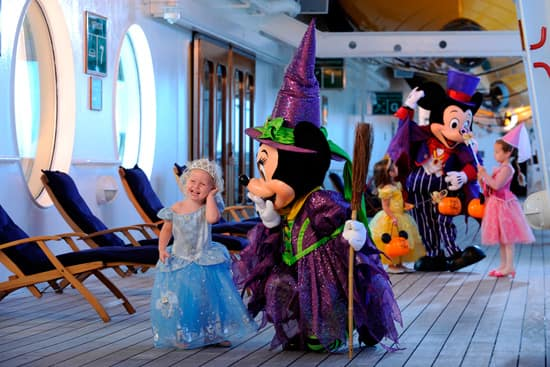 A Magical Halloween Onboard the Disney Magic