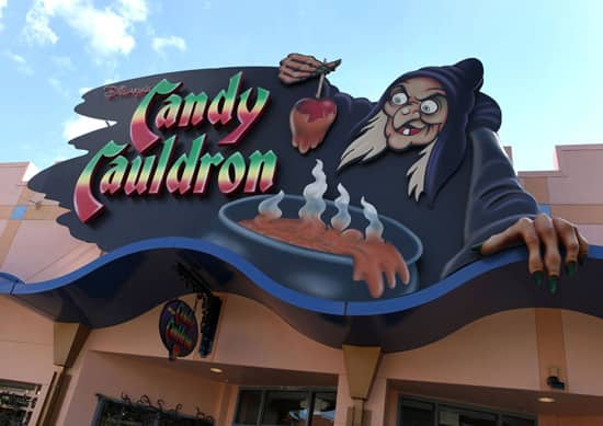 The Candy Cauldron at Downtown Disney West Side