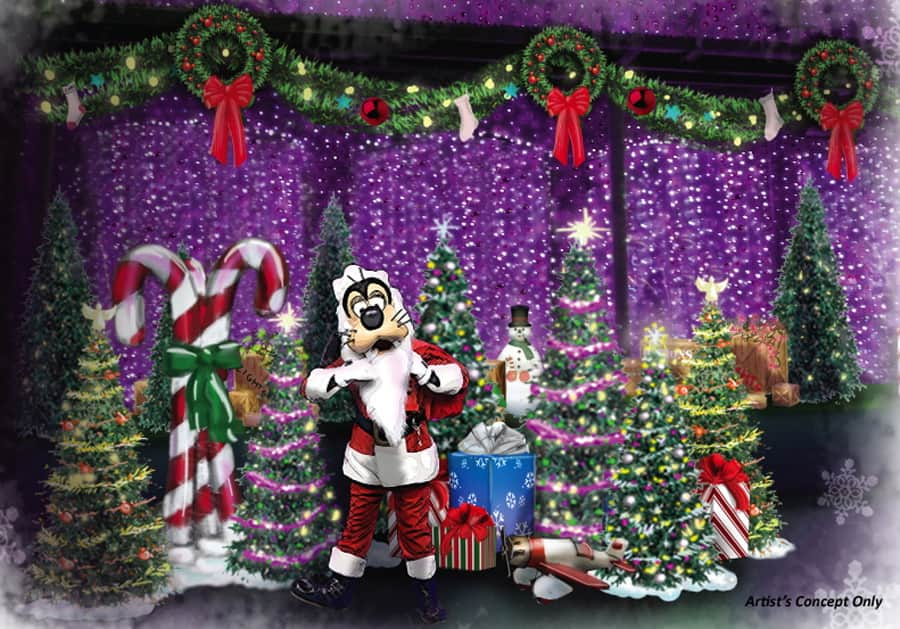 804bd24ace54e Santa Goofy Joins the Fun at The Osborne Family Spectacle of Dancing Lights  at Disney s Hollywood