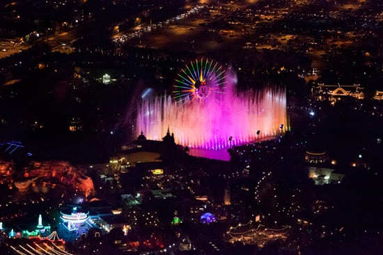 'World of Color' at Disney California Adventure Park