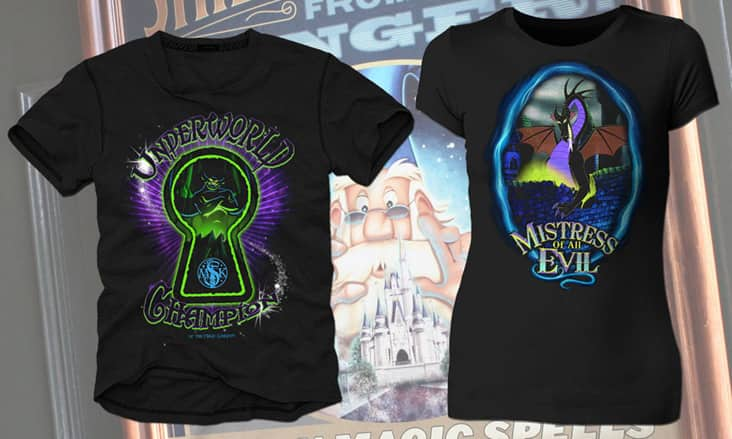 Sorcerers Of The Magic Kingdom Power Up Shirts Arriving In Mid