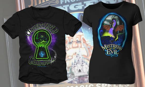 New Sorcerers of the Magic Kingdom Power Up Shirts for Men and Women
