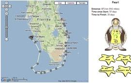 Pearl's Tour de Turtles Map from Disney's Vero Beach Resort