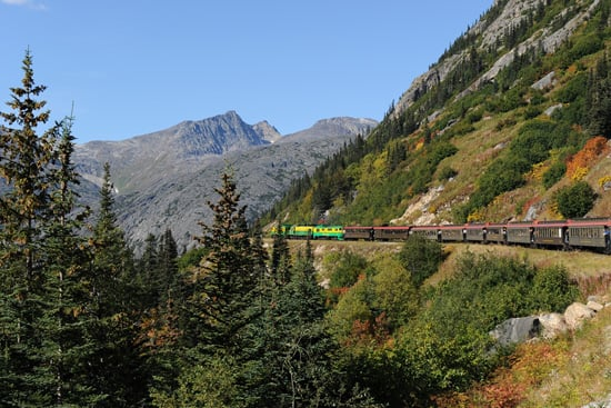 Port Adventures Offer Adults and Kids a Train Ride Along the White Pass & Yukon Railway on Cruises to Alaska with Disney Cruise Line