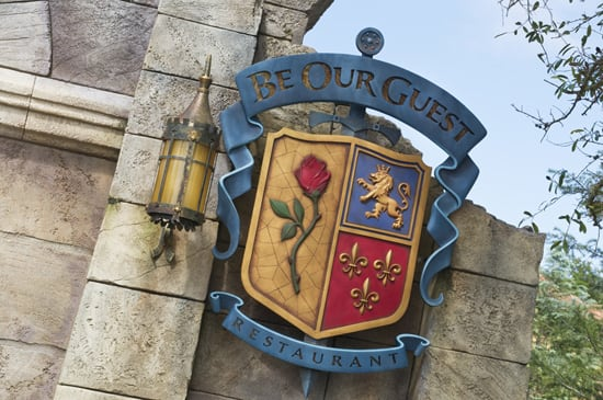 Be Our Guest Restaurant in New Fantasyland at Magic Kingdom Park