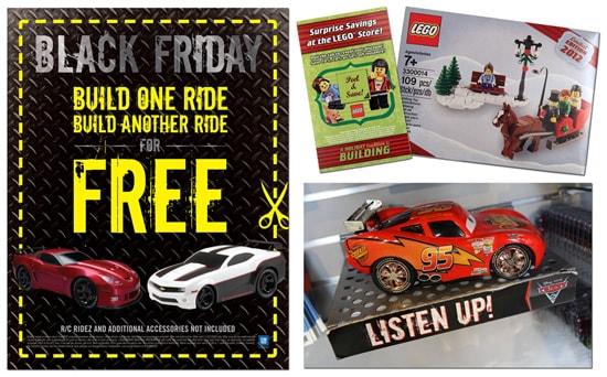 Black Friday Deals in Downtown Disney Area at Walt Disney World Resort for 2012