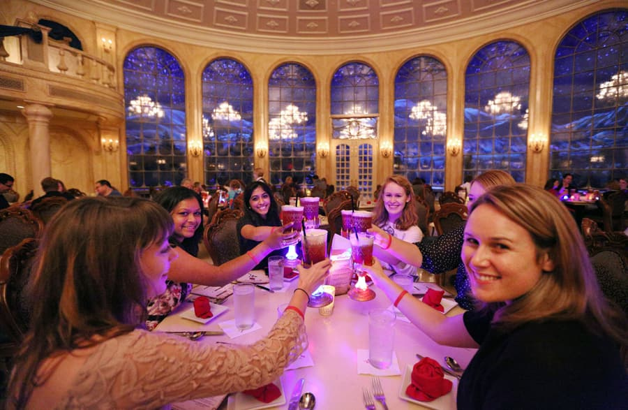A Royal Night At The Be Our Guest Disney Parks Blog Meet