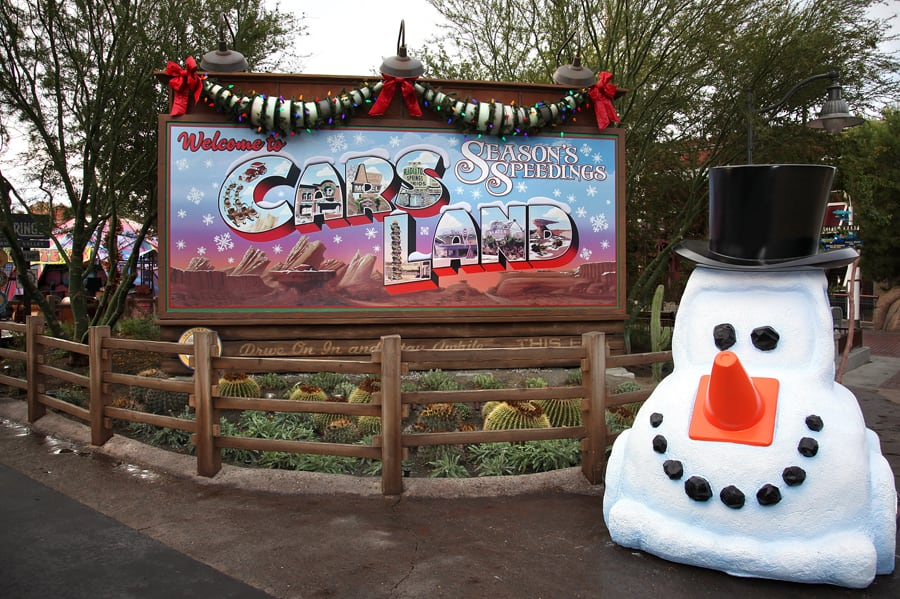 Image result for cars land snowman