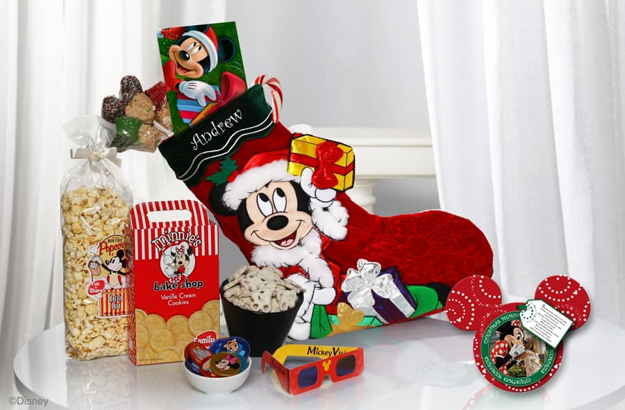 mickeys stocking of surprises available from disney floral
