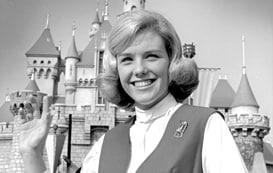 Disneyland Ambassador Shari Bescos Koch in 1969