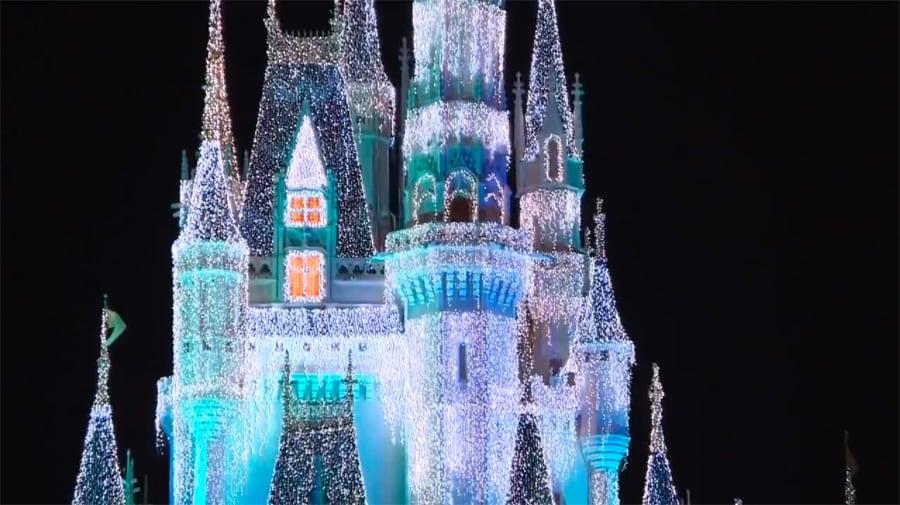 Cinderella Castle Christmas Lights.Behind The Scenes At Cinderella Castle S Castle Dream