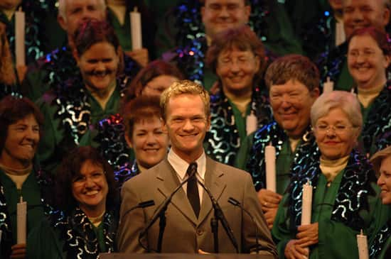Holidays Around the World - Candlelight Processional at Epcot