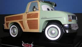 New Limited Edition Figure Inspired by the Disney•Pixar 'Cars' Character John Lassetire